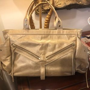 Botkier Gold Metallic Purse